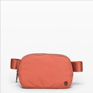 Lululemon Orange Everywhere Belt Bag Fanny Pack